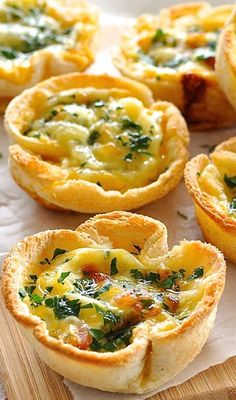 QUICHE TOAST CUPS