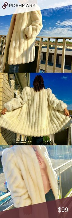 Jodarche vintage faux fur coat Beautiful vintage faux fur coat. Great for winter! In perfect condition. jodarche  Jackets & Coats