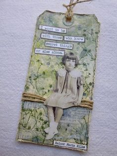 Mixed Media, Paper Crafting, Watercolour, Altered Art, and occasional Dollshouses Atc Cards, Card Tags, Gift Tags, Gift Labels, Mixed Media Cards, Mixed Media Journal, Art Journal Pages, Junk Journal, Art Journaling