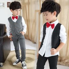 33.15$  Watch here - https://alitems.com/g/1e8d114494b01f4c715516525dc3e8/?i=5&ulp=https%3A%2F%2Fwww.aliexpress.com%2Fitem%2FBoys-Clothing-set-Children-Vest-shirt-trousers-3-piece-suit-2-10-Years-Kids-3-pieces%2F32748478085.html - Boys Clothing set Children Vest + shirt + trousers 3 piece suit 2-10 Years Kids 3 pieces Set Spring Autumn Clothes Tracksuits
