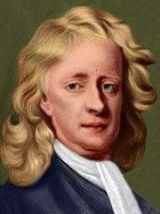 Physicist & Mathematician Isaac Newton was a Christmas baby, born December 25, 1642. He died on March 31, 1727.