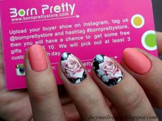 Water Decals Floral Born Pretty Store