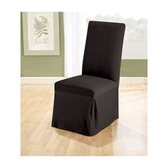 Sure Fit Stretch Pique Long Dining Room Chair Two Piece Slipcover -- You can find more details by visiting the image link.Note:It is affiliate link to Amazon. #DinningRoomAccessories