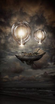 Light Balloon Ship by Robart523.deviantart.com on @deviantART