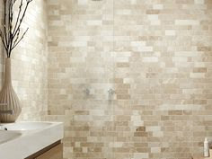 Creating a Feature with Antalya Crema Mosaic