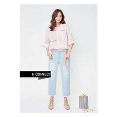 160622 Yoona Update.. @yoona__lim  [SNSD Yoona - H:CONNECT Promotion]  Cr.SMTown_SNSD (Twitter)  .  .    #snsd #sone #girlsgeneration #_snsd_girlsgeneration  #tiffany  #soneshidae #kpop #taeyeon #sooyoung #hyoyeon #yuri #sunny #seohyun #yoona #ootd #outfitoftheday #lookoftheday #fashion #style #love #beautiful #flower #followforfollow #like4like