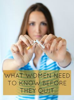 Picking the wrong time of the month to give up smoking could set women up for failure, but we have five tips to get you back on track.
