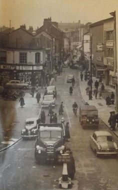 The 60 s St Stephens , I think we have forgotten how it used to look I miss that clock !,
