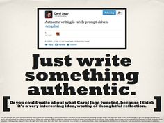 570 authentic writing