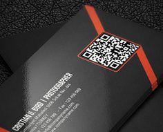 Qr Corporate Business Card  by Calwin (via Creattica)