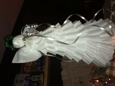 Another coffee filter angel I made today:)