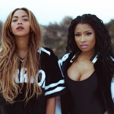 Beyonce and Nicki Minaj in 'Feeling Myself'. World Stop: Click to watch the BFFs in the music video Feeling Myself.