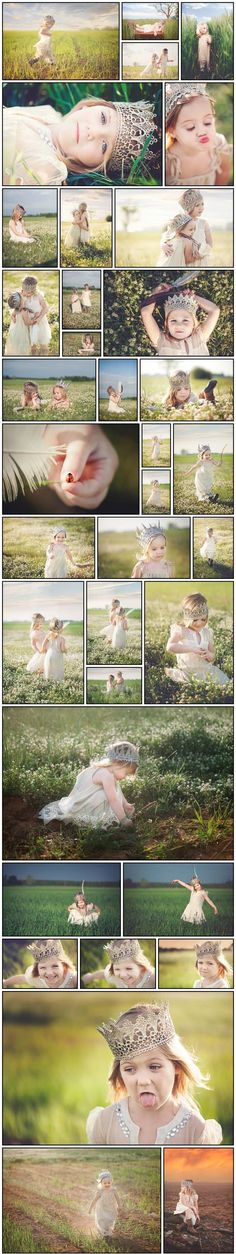 Check out my friend's beautiful photography!! Princess photo shoot | child photography |