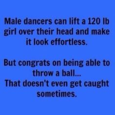 Lol Love this! now if some guys would learn to dance! Dance Problems. : Photo