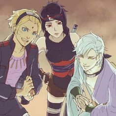 i approve of everything in this pic. boruto with the diamond on his forehead?? approved. an older sarada that looks like her late uncle itachi?? APPROVED. mitsuki looking like that??? APPROVED. team konohamaru not having the legacy of bullshit of team seven?? i will approve of that until the day i perish.