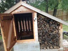 DIY Backyard Smokehouse