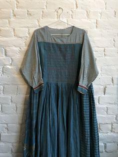 9c5b79df59 Injiri Charbagh 55 Smocked dress. Upcycled Clothing ...