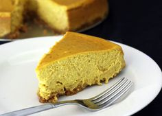21 Pumpkin Recipes for Fall: Pumpkin Cheesecake >> http://www.hgtvgardens.com/recipes/pumpkin-recipes?soc=pinterest