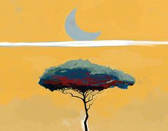 "Check out new work on my @Behance portfolio: ""Albero luna"" http://be.net/gallery/47194407/Albero-luna"
