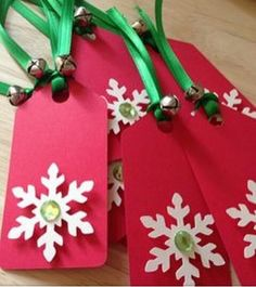 C - Picture Inspiration Only: Christmas Tags