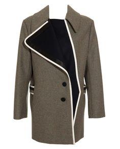 BOUCHRA JARRAR | Shetland Wool Coat