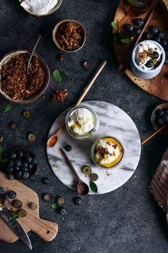 Greek Yogurt Honey Parfaits (With Paleo Option) - Paleo Gluten Free Eats