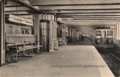 Berlin U-Bahn: Spittelmarkt, early 20th century