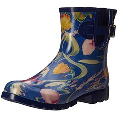 Women's Droplet Rain Boot -- Check out this great product. (This is an affiliate link) #AnkleBootie