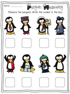 FREE Penguin Measuring activity