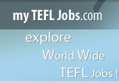 http://www.mytefljobs.com A leading job board for ESL, TEFL jobs where ESL and TEFL jobs are posted by employers worldwide.My TEFL Jobs - Teach English Abroad | ESL | TEFL | ESOL | EFL | TESOL teaching Job for employment Find your ESL-TEFL-TESL-EFL teaching Jobs available in UAE, Saudi, Oman, Qatar, Korea, China, Japan, Kuwait Bahrain for native English teachers .