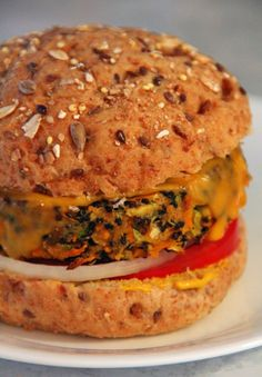 Jo and Sue: Carrot Zucchini Quinoa Veggie Burgers
