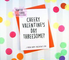 E-cards threesome valentine