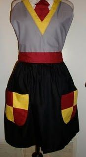 A Gryffindor apron!  Too dorky or way cool?