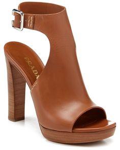 224bbf1e1383 Spotted this Prada Leather Ankle-strap Sandal on Rue La La. High Heels  Womens Fashion