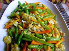 Resep Telur Orak Arik Sayuran Pedas-Resep Masakan Indonesia