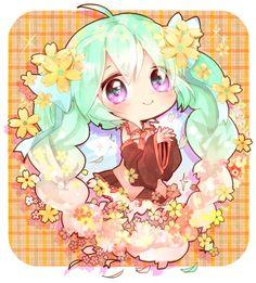 Tags: Fanart, Hatsune Miku, VOCALOID, Pixiv, PNG Conversion, Fanart From Pixiv, Mami Love Candy
