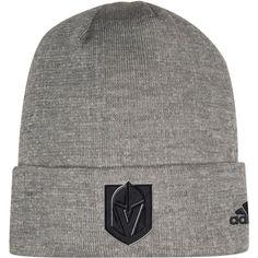 Vegas Golden Knights adidas India Cuffed Knit Hat – Charcoal f31c68195f1c