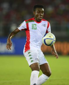 Alain Traore of Burkina Faso during the 2015 Africa Cup of Nations football match between Burkina Faso v Gabon at Bata Stadium in Bata, Equatorial Guinea on 17 January 2015 ©Barry Aldworth/BackpagePix