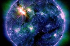 Earth braces for biggest solar storm in five years    http://www.abc.net.au/science/articles/2012/03/08/3448676.htm?topic=space