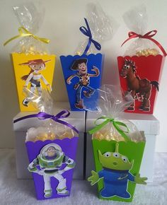 Toy Story Snack Boxes - Set of 10 : Toy Story Snack Boxes - Set of 10 Toy Story Dulceros, Toy Story Baby, Toy Story Theme, Toy Story Birthday, 6th Birthday Parties, 3rd Birthday, Birthday Photos, Birthday Ideas, Manualidades Toy Story