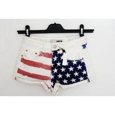 American flag shorts :)
