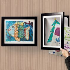 Art Dynamic Frame, Children's Artwork Frame, Pocket Frame