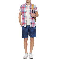 J.CrewCheck Cotton Oxford Shirt