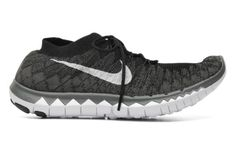 Nike Wmns Nike Free 3.0 Flyknit Sport shoes in Black at Sarenza.co.uk (207043)