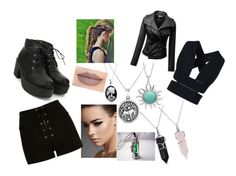 """""""DAUNTLESS"""" by princesstigerlily123 ❤ liked on Polyvore featuring Jeffree Star, Bling Jewelry, River Island, STELLA McCARTNEY and H2O+"""