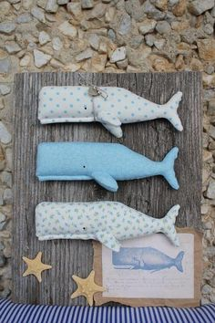 Sperm Whale Tilda Tutorial and Pattern ~ DIY Tutorial Ideas! Felt Crafts, Fabric Crafts, Diy And Crafts, Crafts For Kids, Sewing Toys, Sewing Crafts, Sewing Projects, Lavender Crafts, Fabric Fish