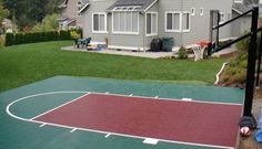 A home basketball sport court is an excellent way to bring the whole family together, keep the kids off the street, and offer an alternative to a night of eating and drinking for people who attend your summer parties. If you hire Exterior Worlds as your general contractor to oversee the construction of your court, you can expect not only a superb athletic facility, but also one that looks like a truly integral part of your landscape design. The first thing we will help you determine is the