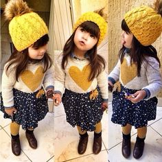 Kids Fashion.... IF I ever have a girl this is what she would wear!!! So cute!!!