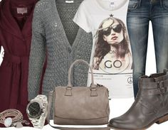 ready to go - Casual Outfit - stylefruits.nl