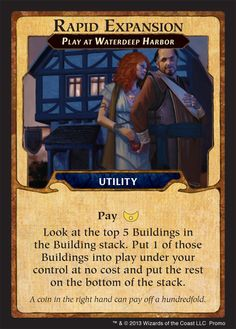 Lords of Waterdeep: Rapid Expansion Promo Card | Image | BoardGameGeek